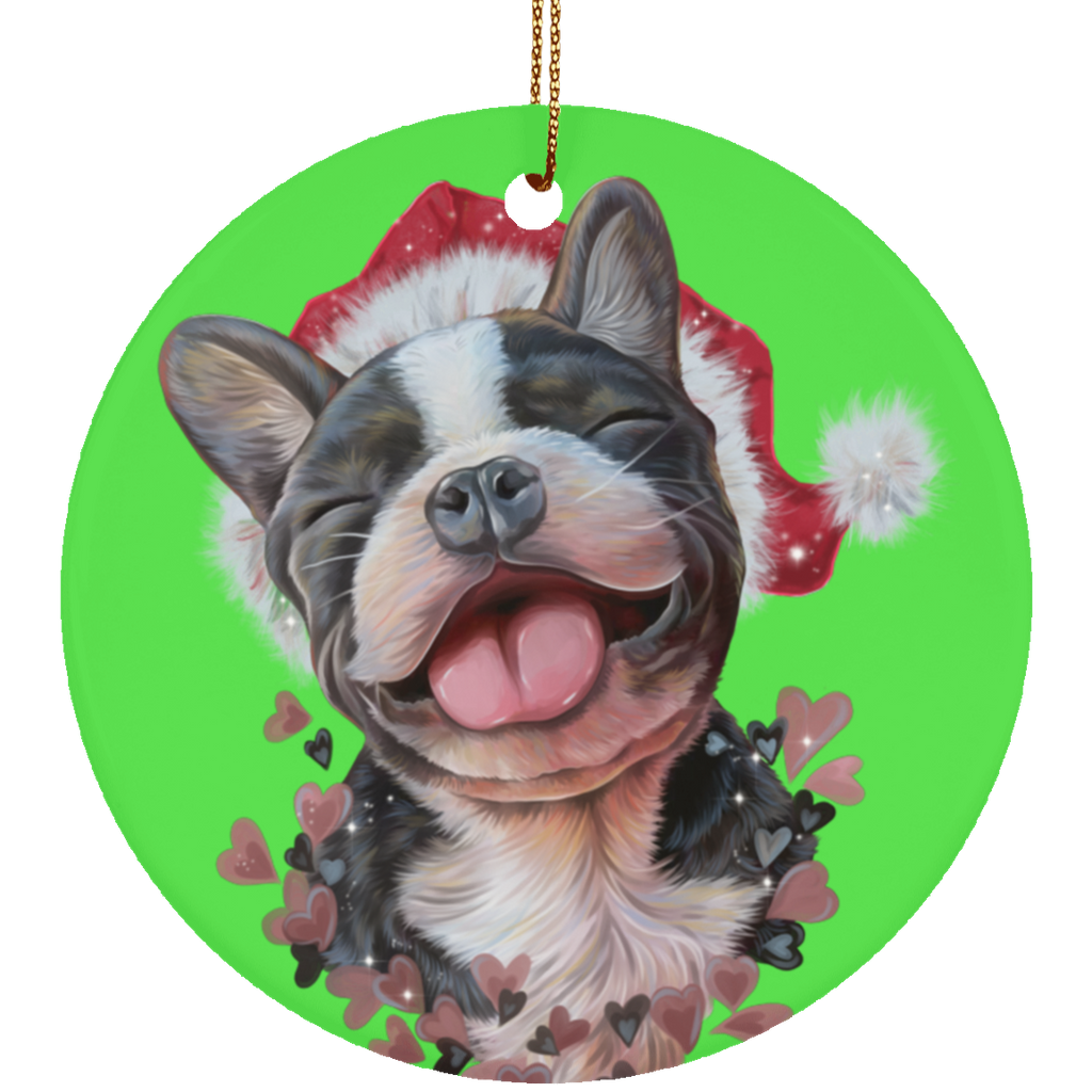 French Bulldog Christmas Tree Ornaments - GoneBold.gift