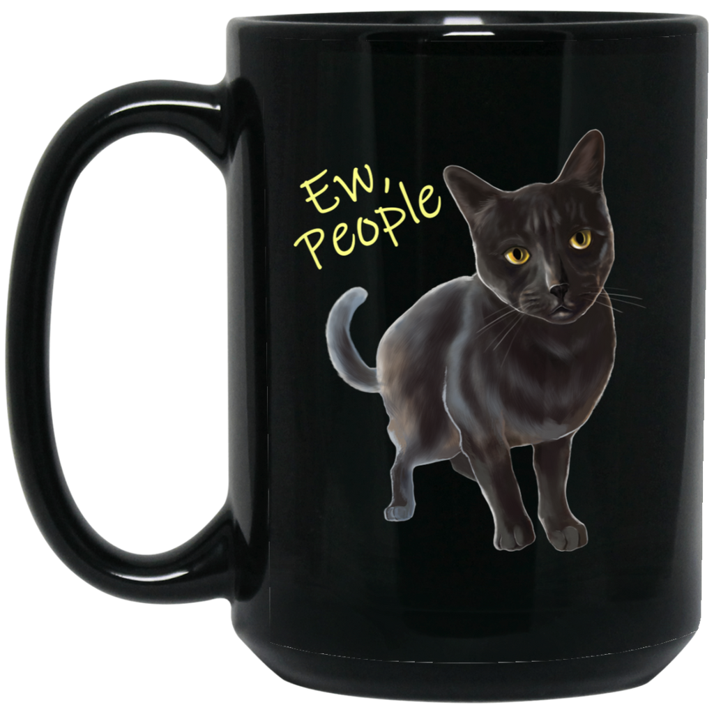 Ew, People Funny Cat Mug - GoneBold.gift