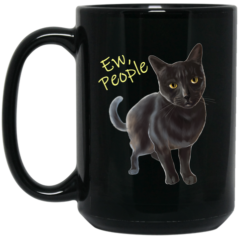 Ew, People Funny Cat Mug