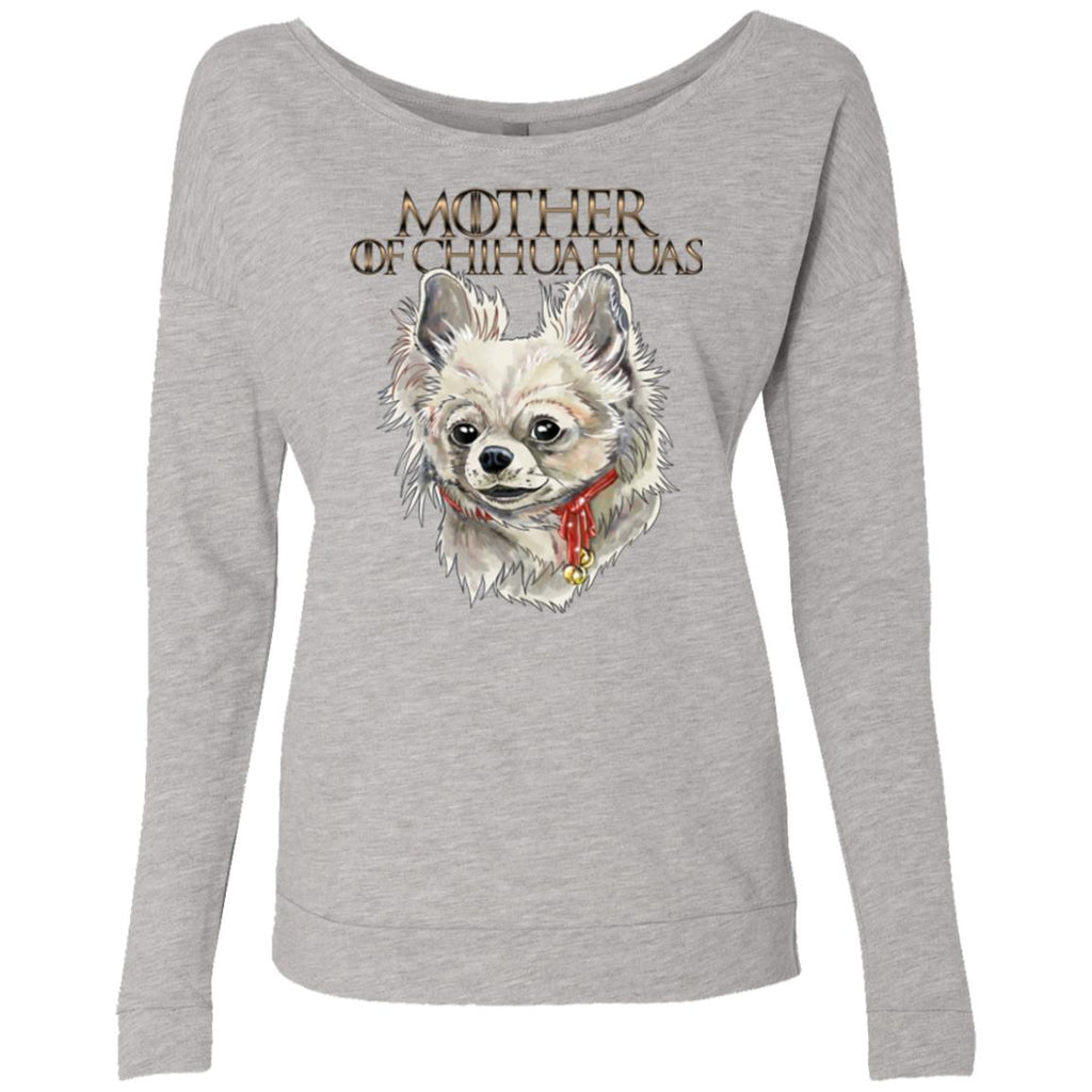 Chihuahua Shirt, Scoop For Women, Girls - Mother of Chihuahuas - GoneBold.gift