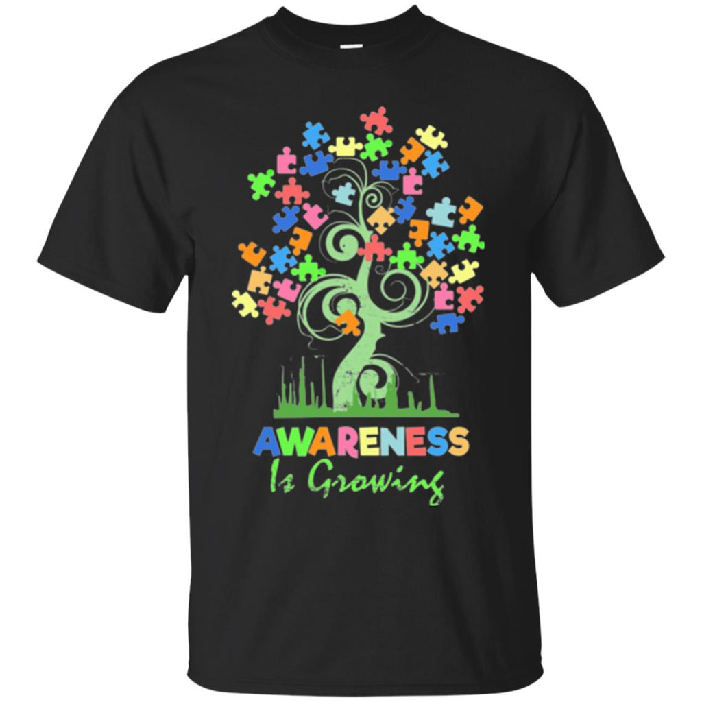 Autism Awareness shirts - Awareness Is Growing - GoneBold.gift