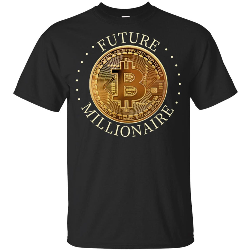 Future Millionaire Youth Ultra Cotton Bitcoin T-Shirt - GoneBold.gift