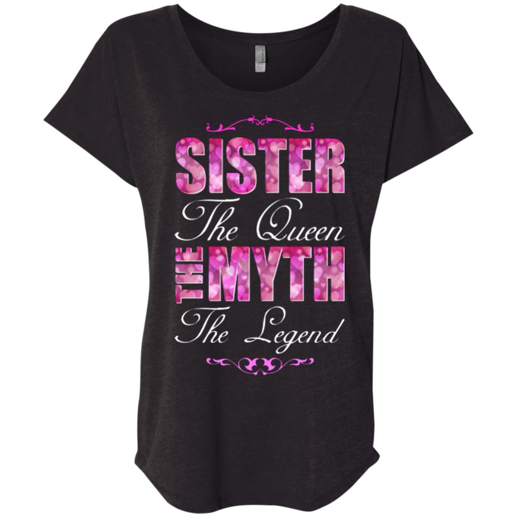 Sister gifts shirt Queen Women tees n tanks - GoneBold.gift