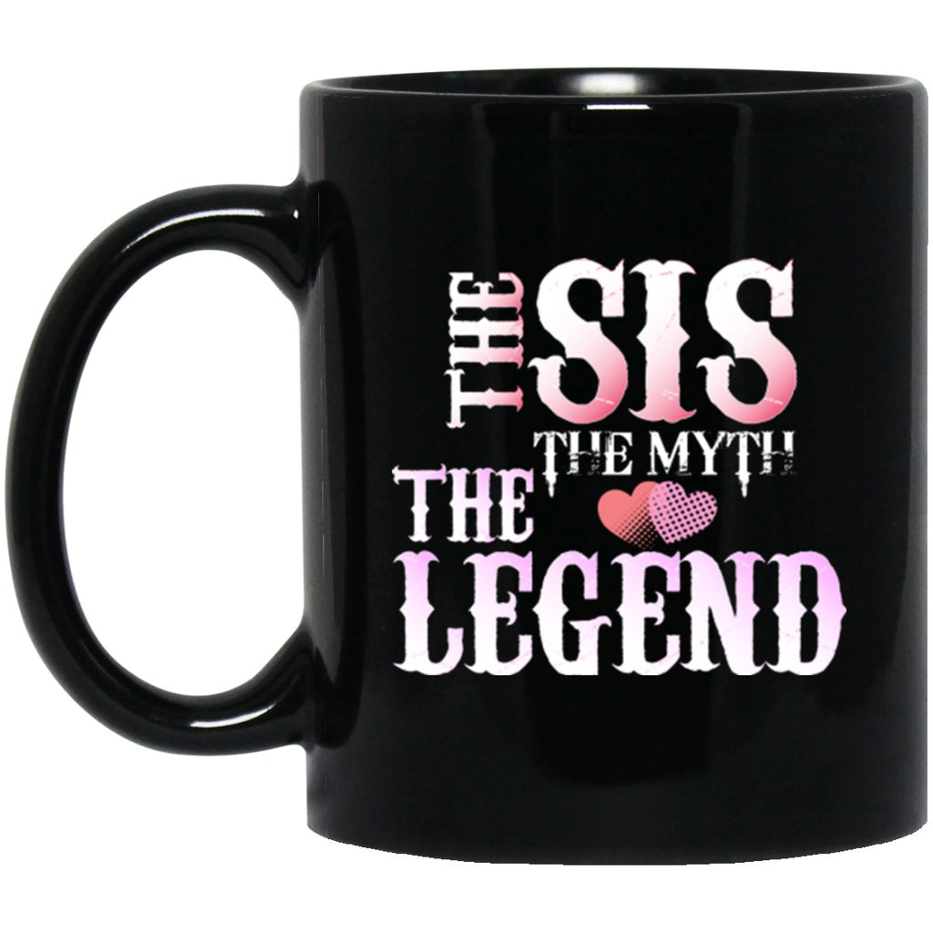 Gift for Sister Mug Black Coffee Mugs - GoneBold.gift