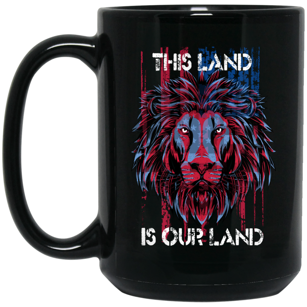 USA Flag This Land Patriotic Gifts Coffee Mug - GoneBold.gift