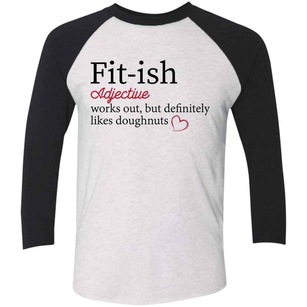 Funny Baseball Raglan T-Shirt - Fittish - GoneBold.gift