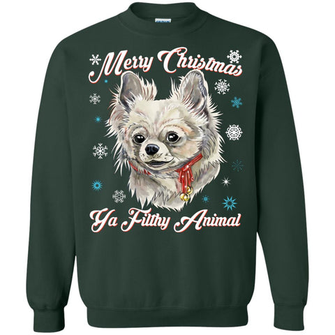 Christmas ugly Sweater Hoodie - Chihuahua Dog Christmas Gift Idea - GoneBold.gift
