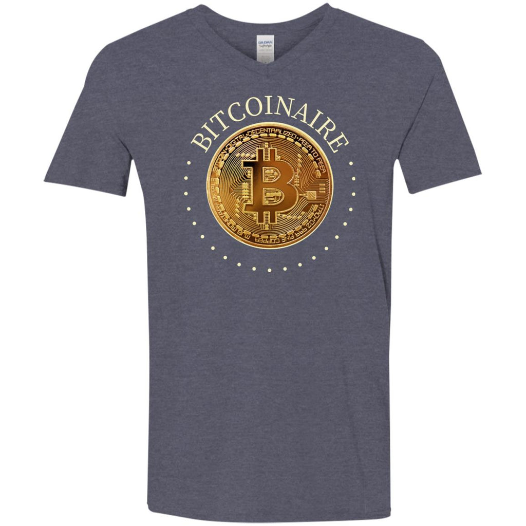 Bitcoin Shirt for Men - Bitcoinaire - GoneBold.gift