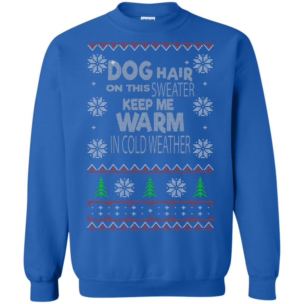 Christmas Ugly Sweater Dog Hair Funny Gifts Hoodies sweaters - GoneBold.gift