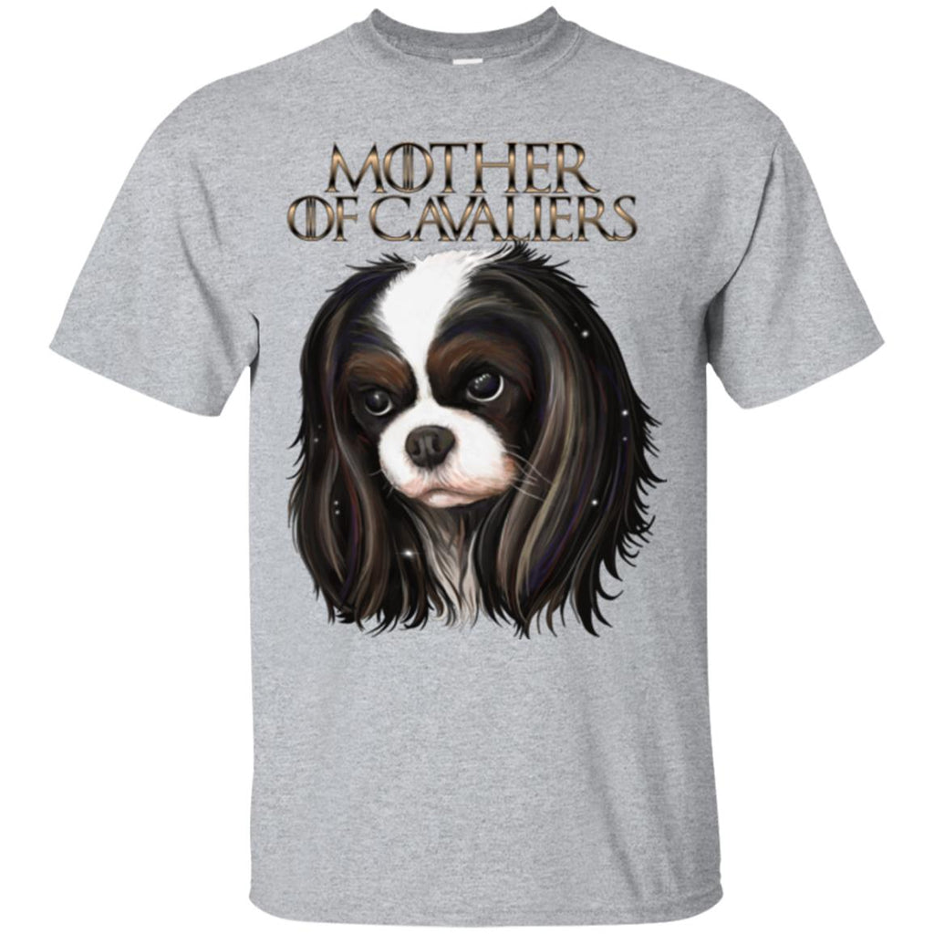 Mother of Cavaliers, Cavalier King Charles Spaniel Shirt - GoneBold.gift