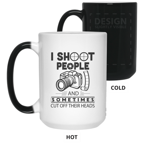 Photographer 15 oz. Color Changing Mug
