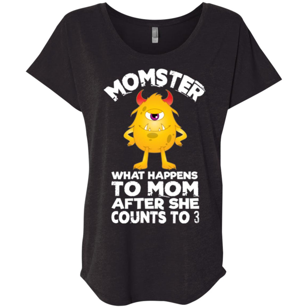 Mom Gift, Momster shirt Women tees n tanks - GoneBold.gift