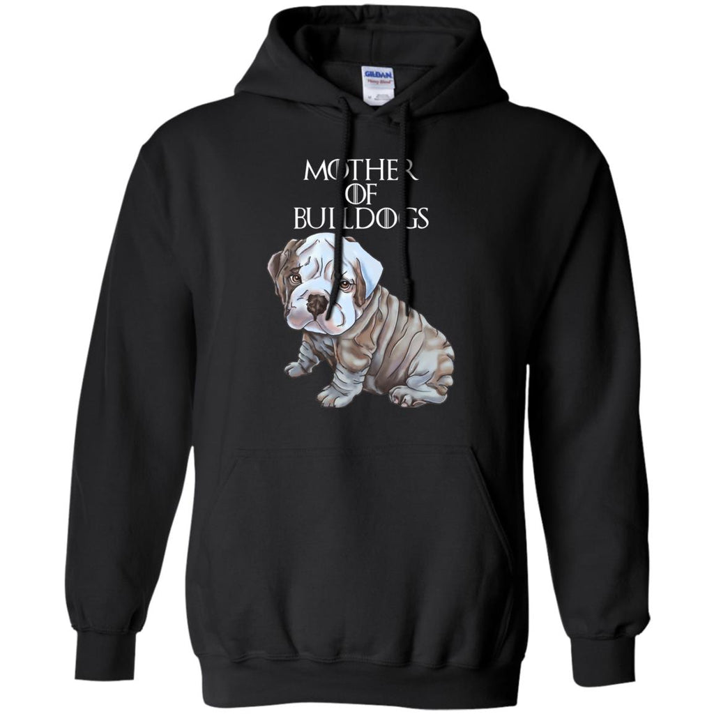English bulldog Hoodie For Women - Mother of Bulldogs - GoneBold.gift