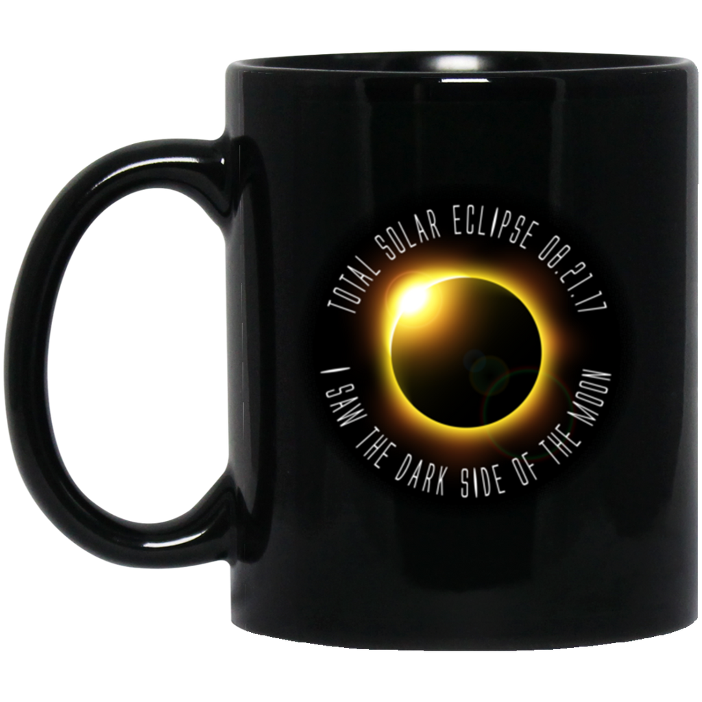 Solar Eclipse Coffee Mug - Dark Side Of The Moon - GoneBold.gift