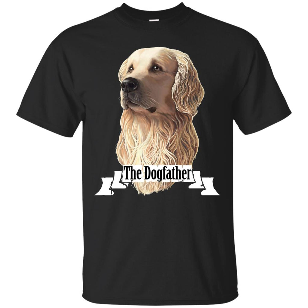 Golden Retriever T-Shirt The DogFather - GoneBold.gift