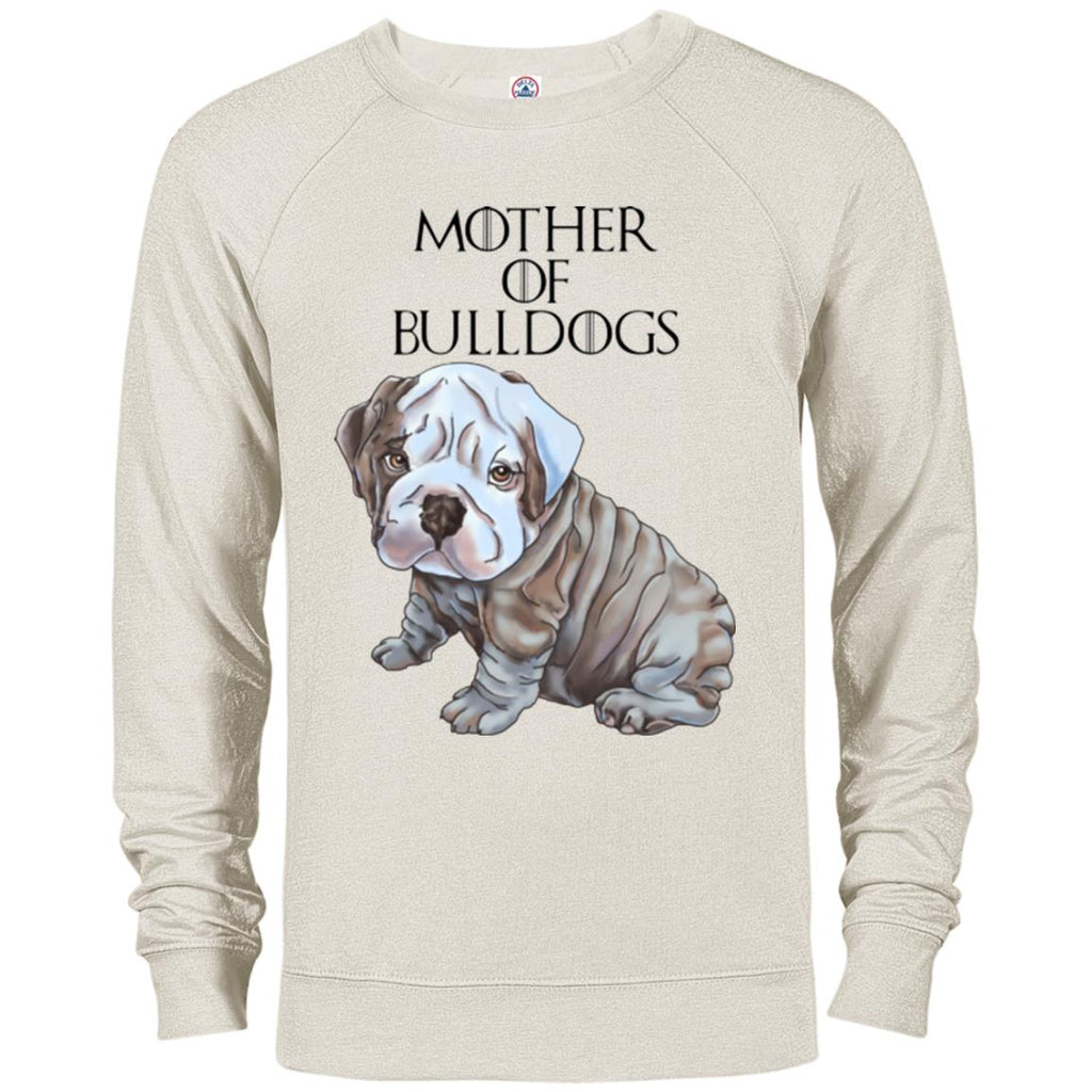 English Bulldog Sweatshirt, Sweater For Women, Girls - Mother of Bulldogs - GoneBold.gift