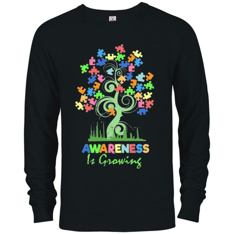 Autism Awareness Shirt Sweater - Awareness Is Growing - GoneBold.gift