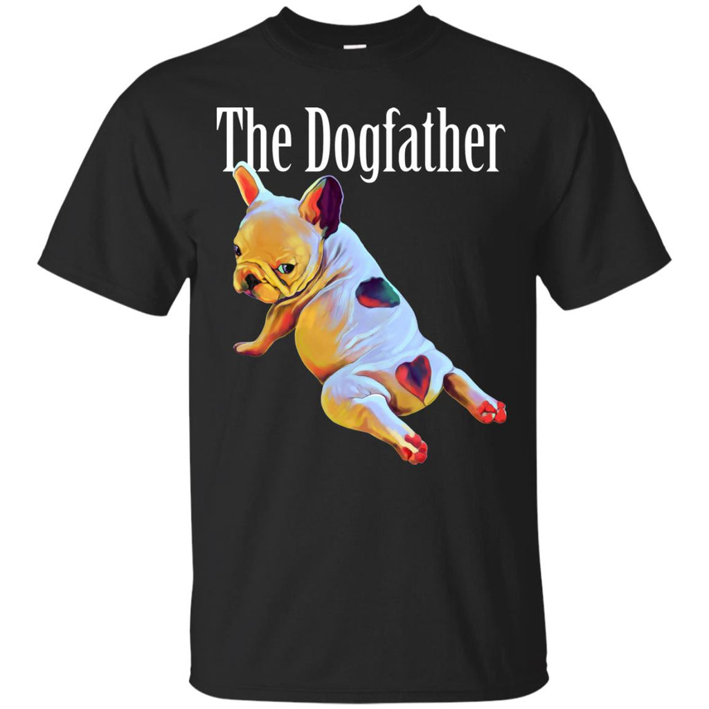 French Bulldog Shirt - The Dogfather - GoneBold.gift