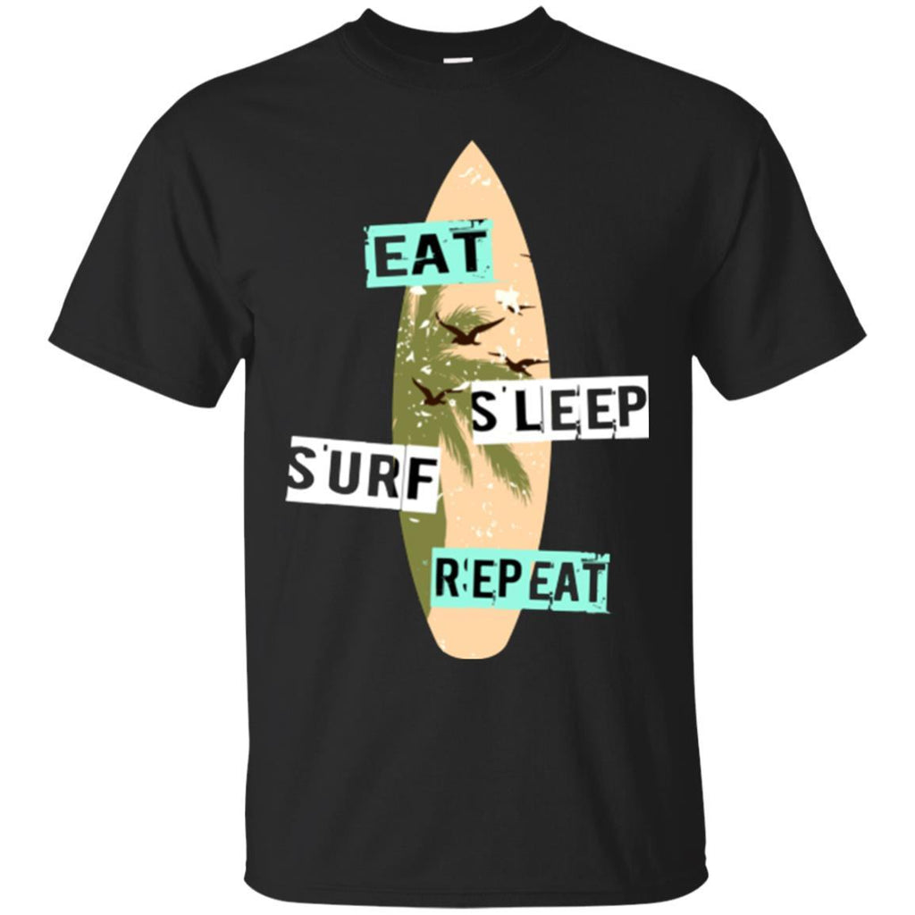 Surfing Shirt Surf Board Funny Unisex Tees - GoneBold.gift