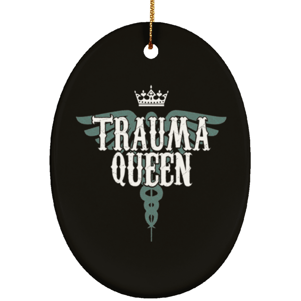 Nurse Gifts Trauma Queen Christmas Tree Decorantions Ornament