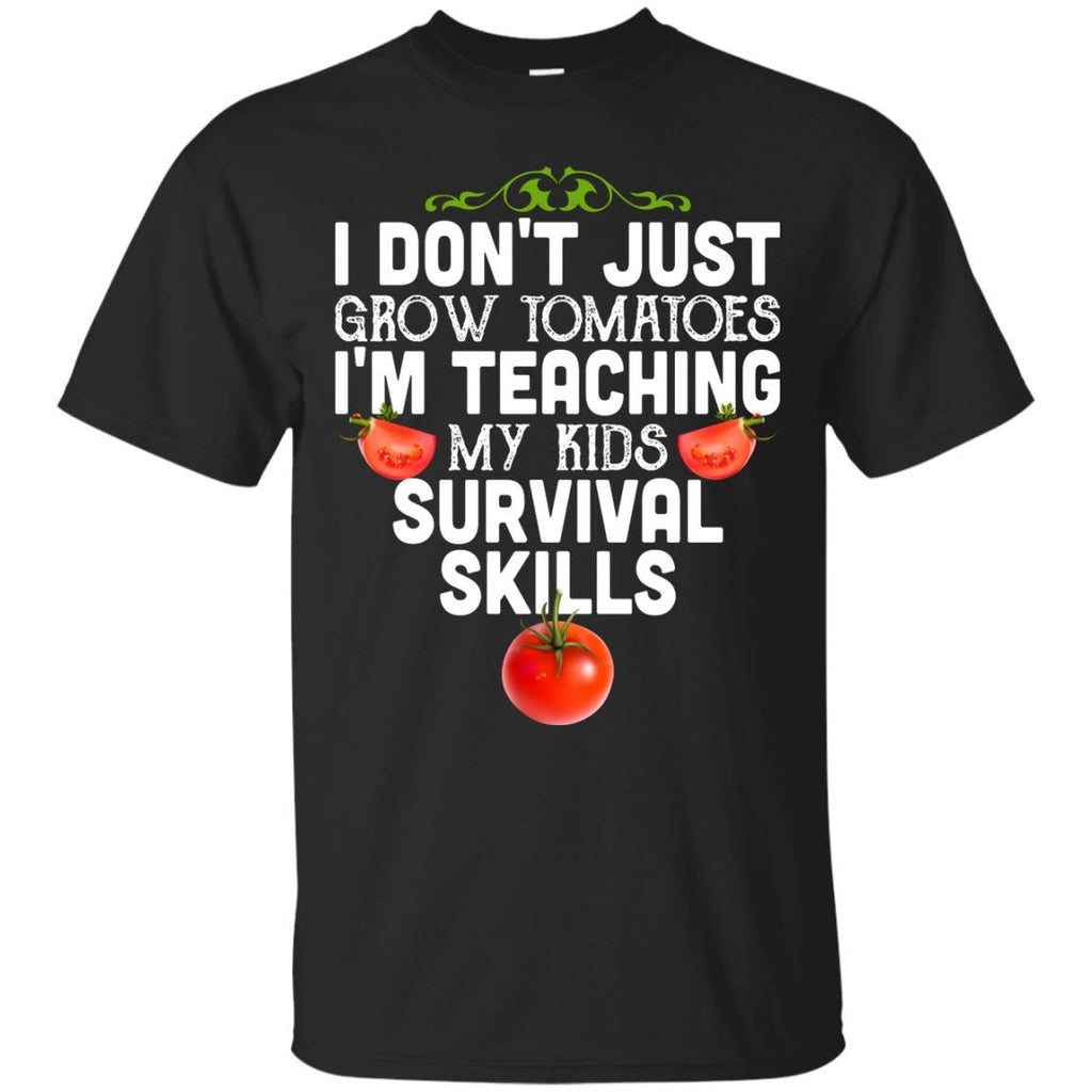 Funny Shirt for Gardener Grow Tomatoes Unisex Tees - GoneBold.gift