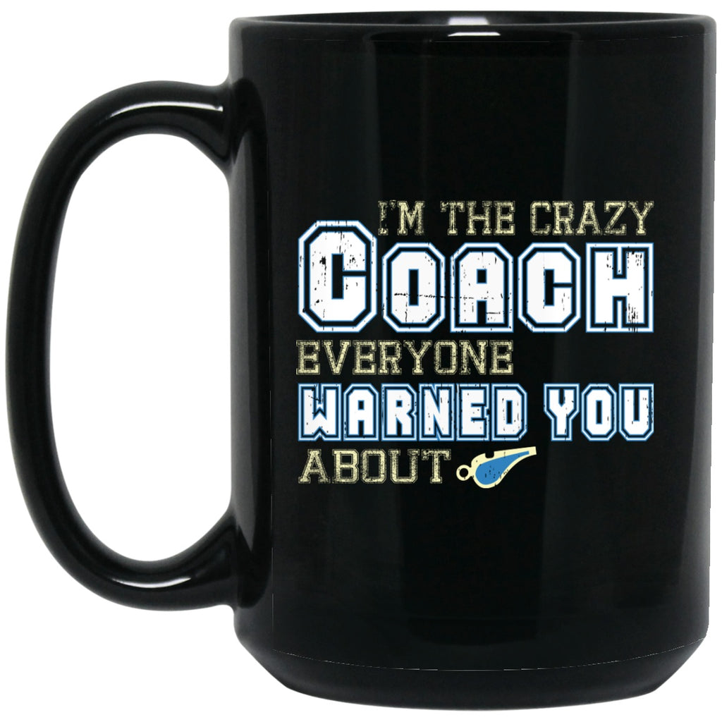 Funny Coach Mug Gifts Black Coffee Mugs - GoneBold.gift