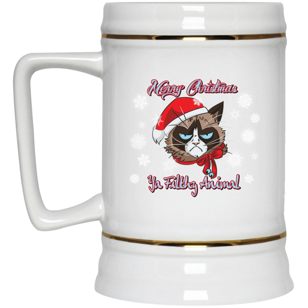 Christmas Mug Funny Cat Filthy Animals White Mugs - GoneBold.gift