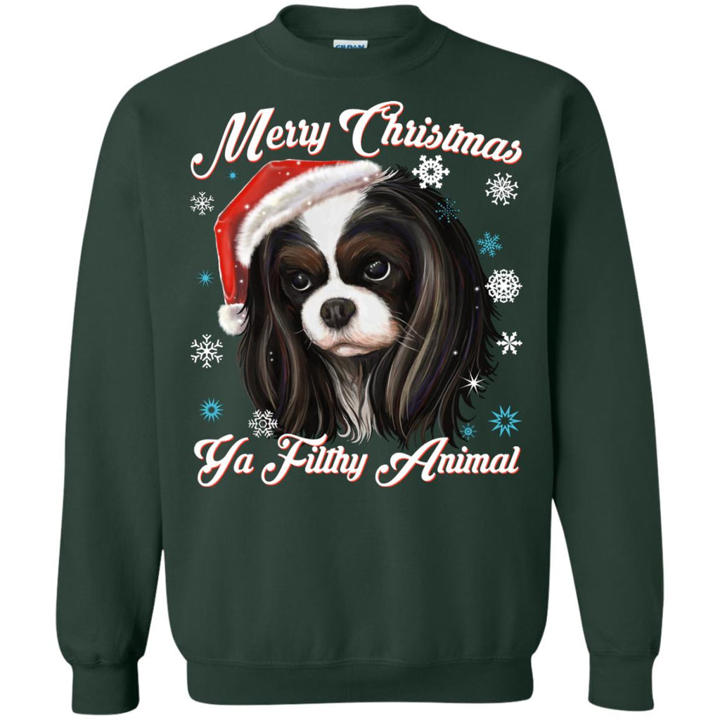 Christmas ugly Sweater Hoodie - Cavalier King Charles Spaniel - GoneBold.gift