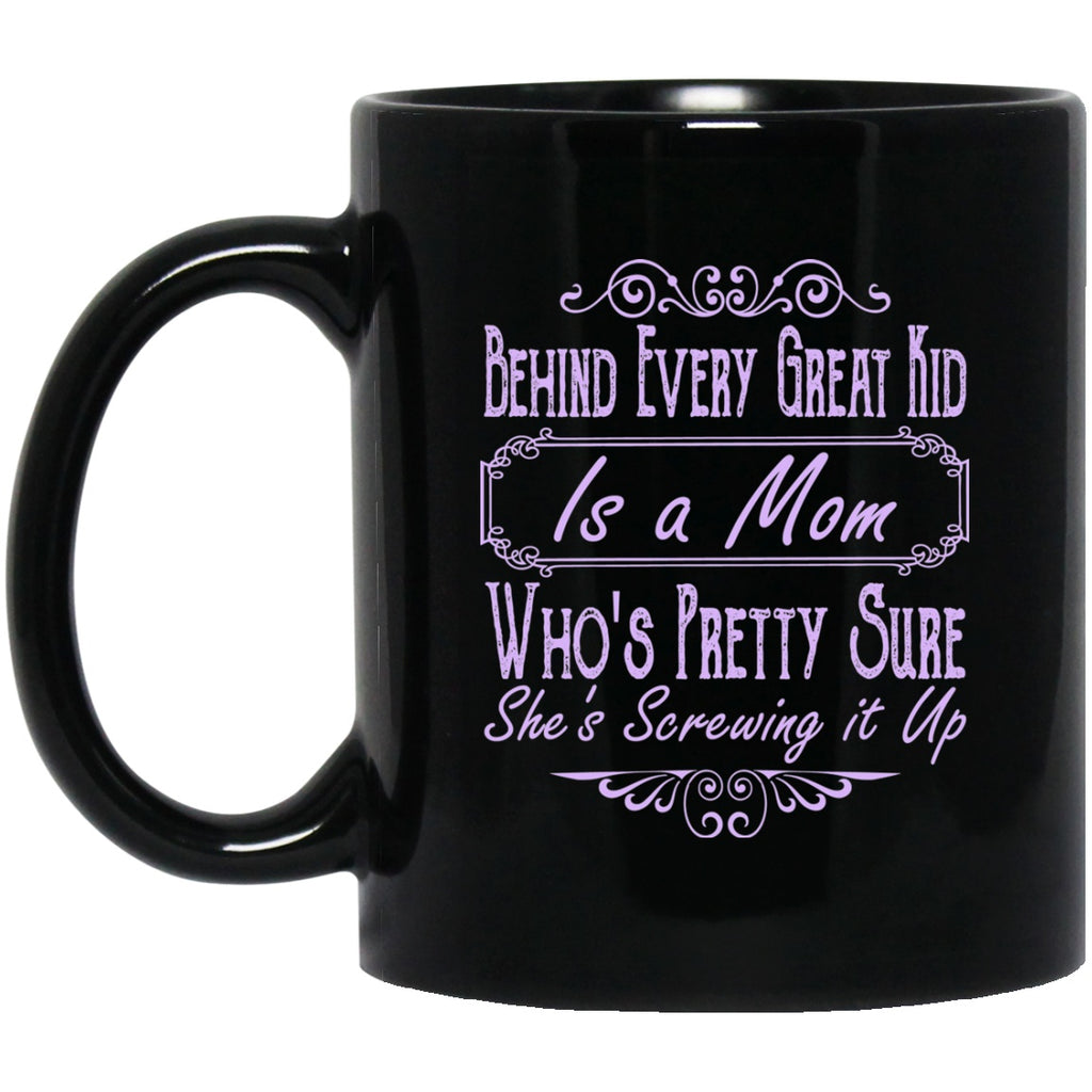 Mom Black Coffee Mugs - GoneBold.gift