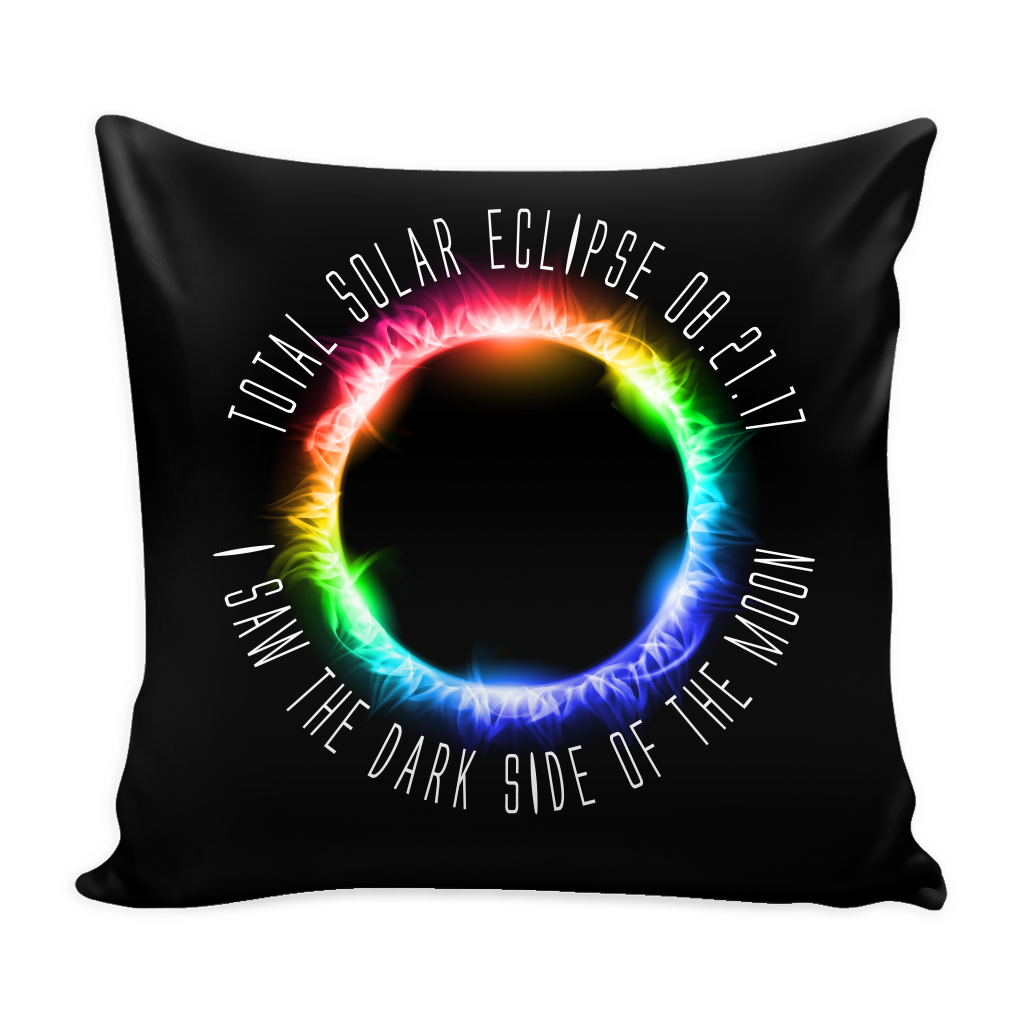 Solar Eclipse Memorabilia Pillow Case - Pillow Cover Only - GoneBold.gift