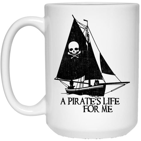 A Pirate's Life For Me Coffee Mugs and Beer Steins - GoneBold.gift