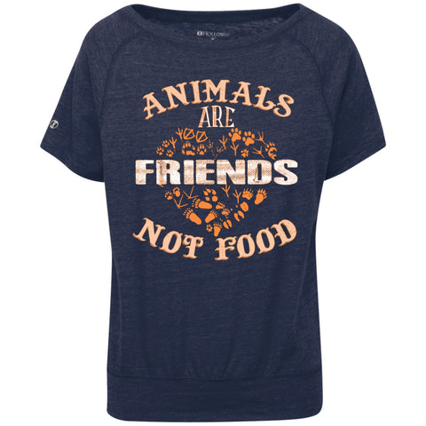 Animals Are Friends Not Food - Ladys Tees & Tanks - GoneBold.gift
