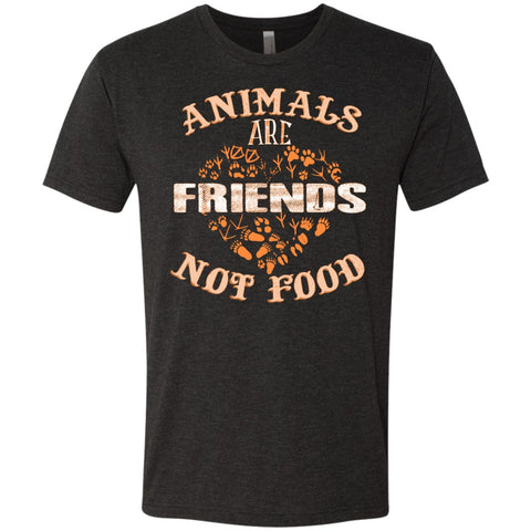 Animals Are Friends Not Food - Men's T-Shirts - GoneBold.gift