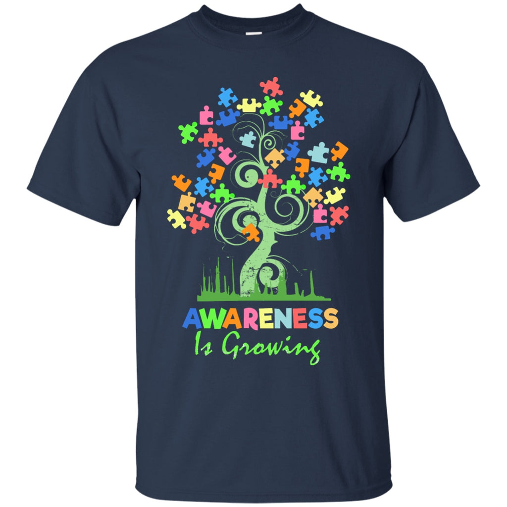 Autism Awareness Tree - Awareness Is Growing Shirts And Hoodies - GoneBold.gift