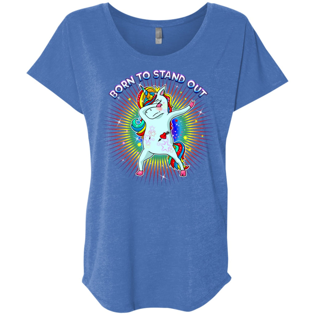 Born To Stand Out Unicorn Shirts - GoneBold.gift