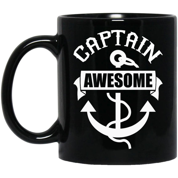 Captain Awesome Coffee Mug - Pirate Mug