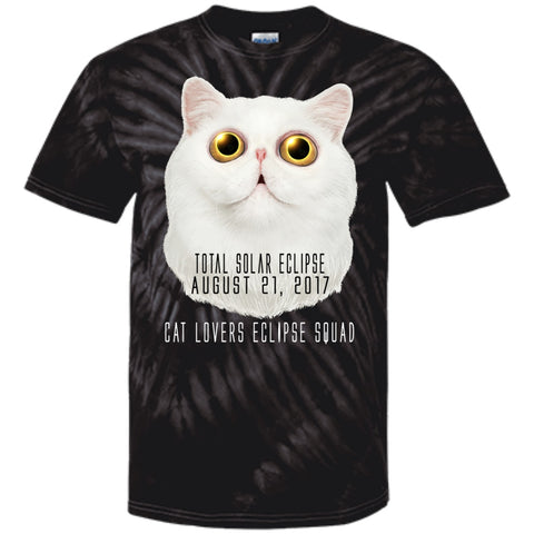 Cat Lovers Squad Solar Eclipse Cat Unisex T-Shirts - GoneBold.gift