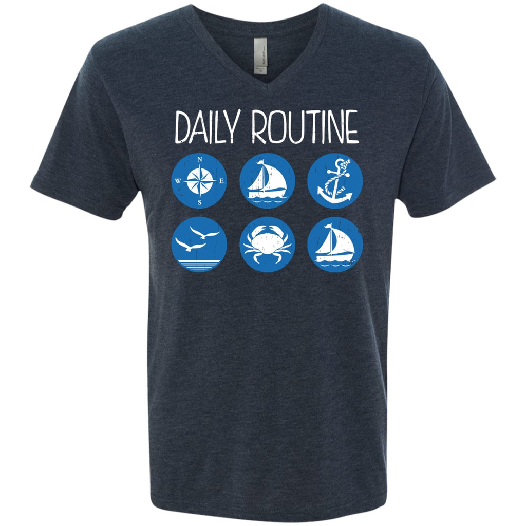 Daily Routine - Men's Shirts - GoneBold.gift
