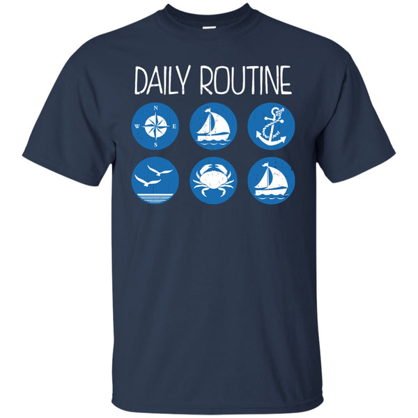 Daily Routine - Unisex/Women's Shirts - GoneBold.gift