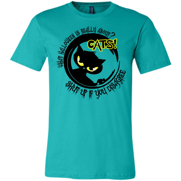 Apparel - Halloween Is Really About Cats - Tees & Hoodies