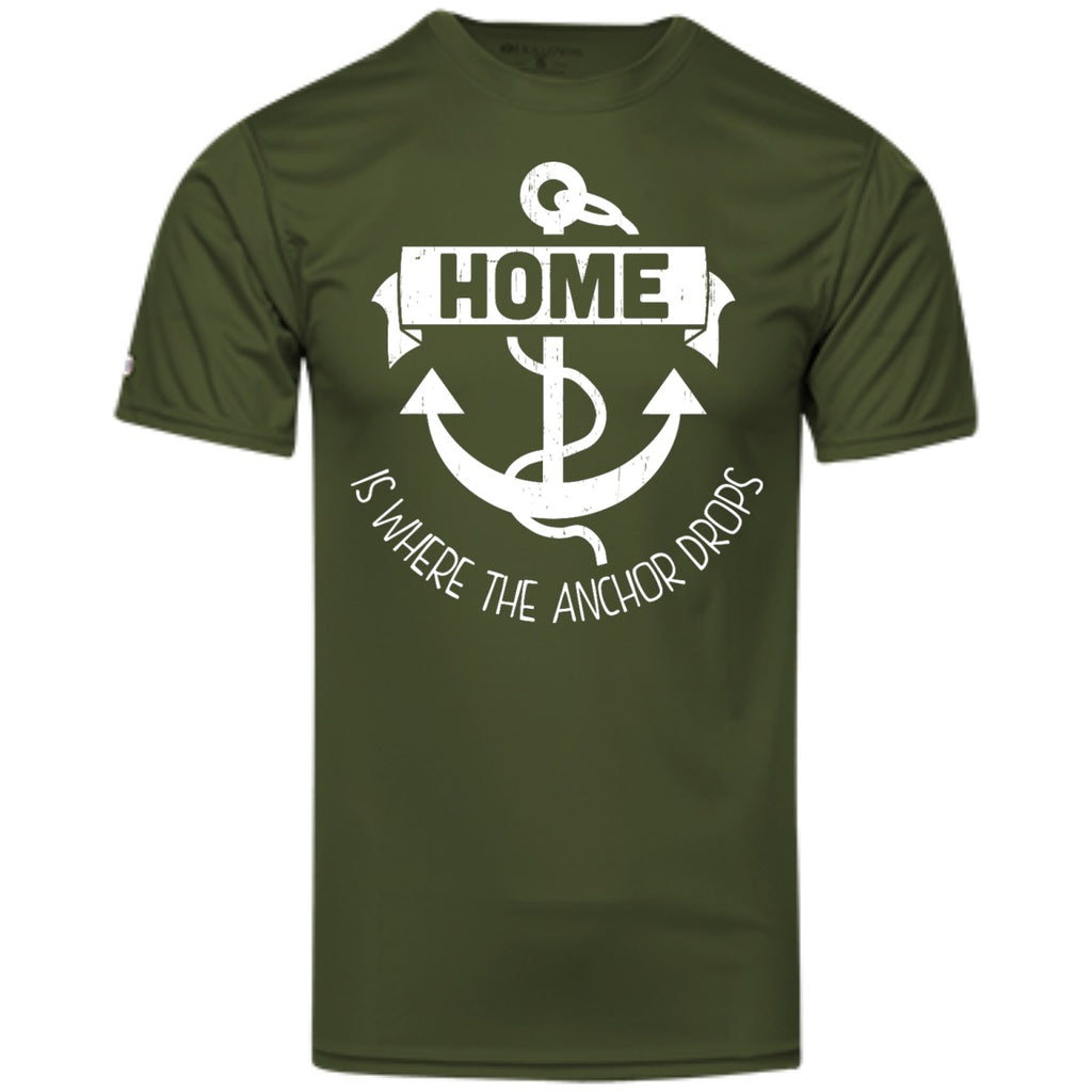 Home Is Where The Anchor Drops - Men's Shirts & Tanks - GoneBold.gift