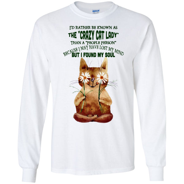 I'd Rather Be Known As The Crazy Cat Lady - Sweatshirts & Hoodie - GoneBold.gift