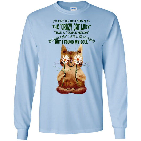 Apparel - I'd Rather Be Known As The Crazy Cat Lady - Sweatshirts & Hoodie