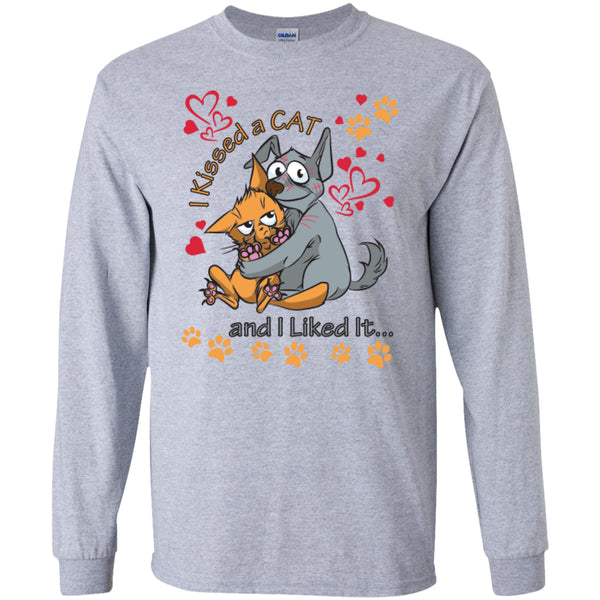 I Kissed A Cat And I Liked It - Pick Your Shirt or Hoodie - GoneBold.gift - 4