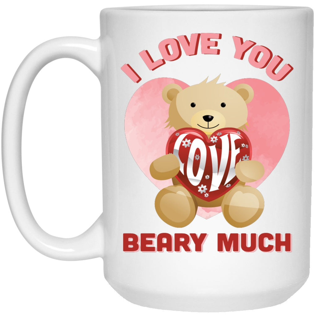 I Love You Beary Much - Mugs & Beer Steins - GoneBold.gift