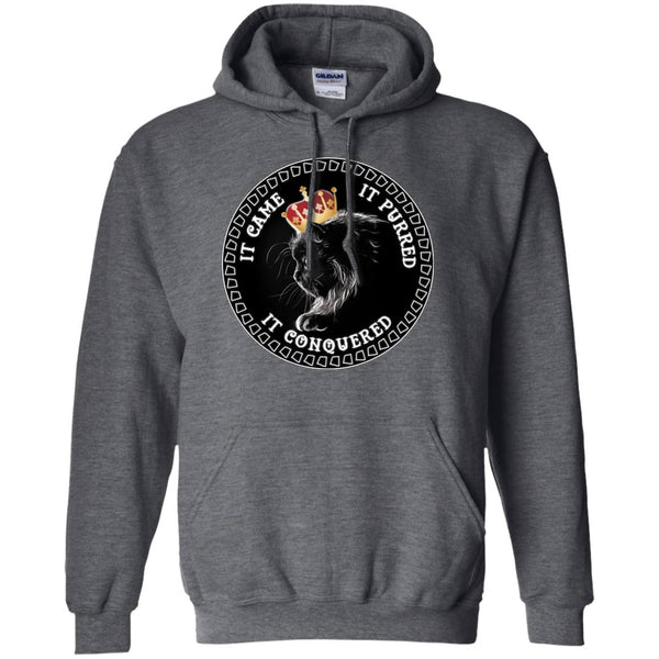 It Came It Purred It Conquered Cat Lovers Tees & Hoodies - GoneBold.gift