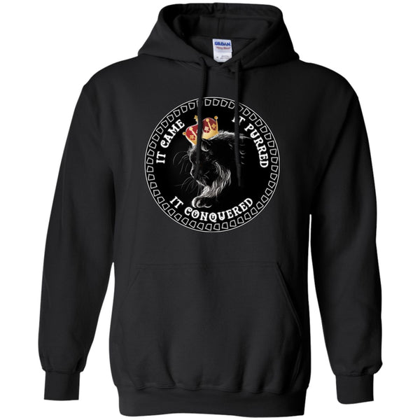 Apparel - It Came It Purred It Conquered Cat Lovers Tees & Hoodies