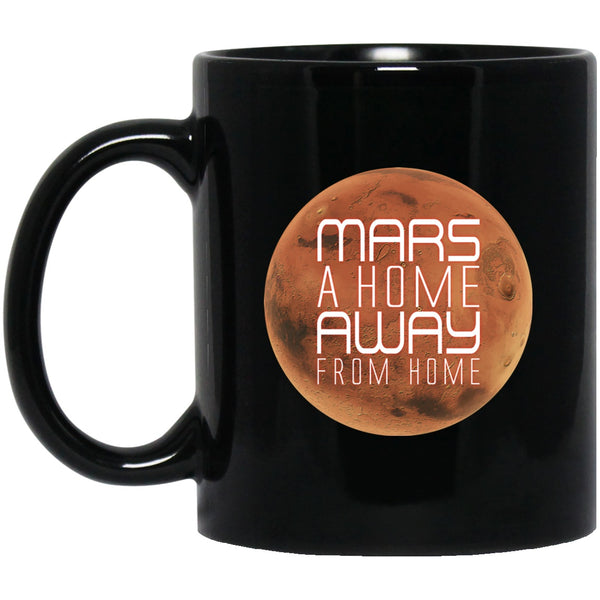 MARS Black Coffee Mugs
