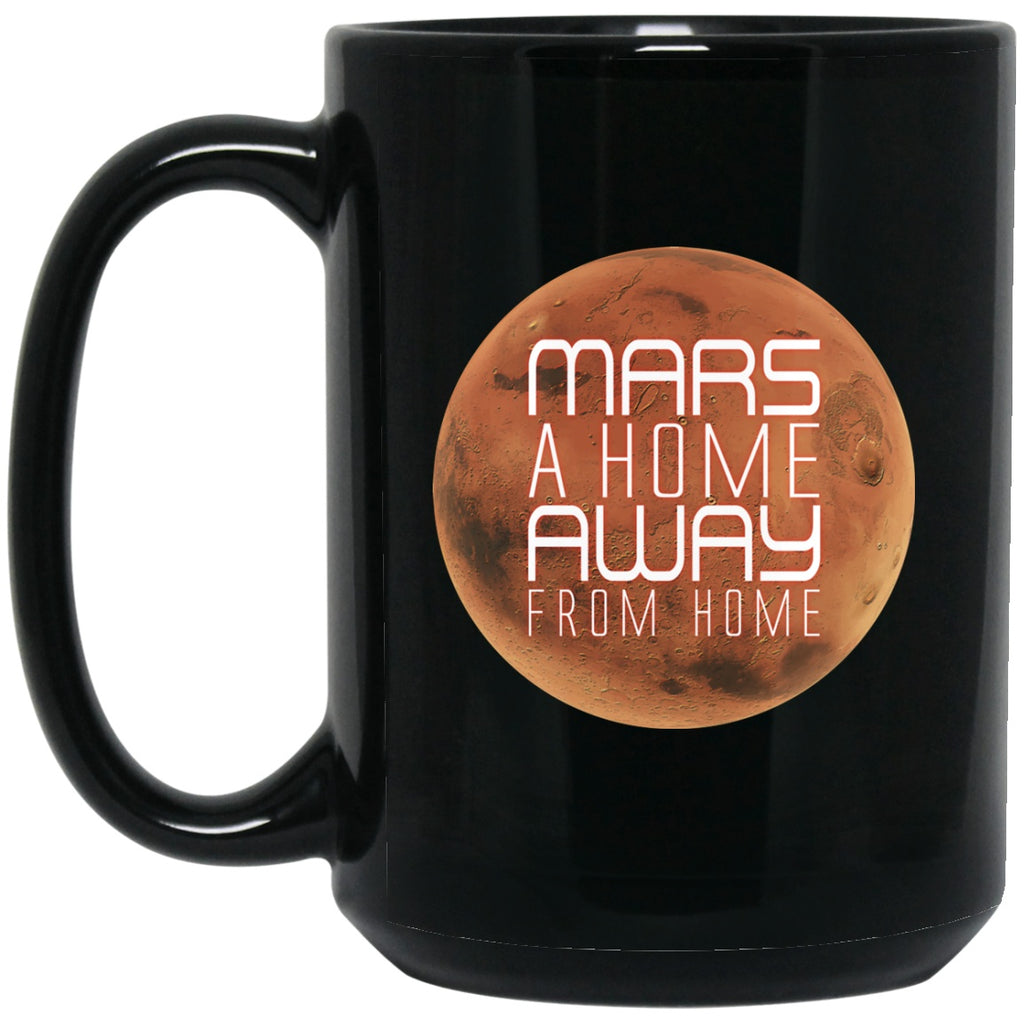 MARS Black Coffee Mugs - GoneBold.gift