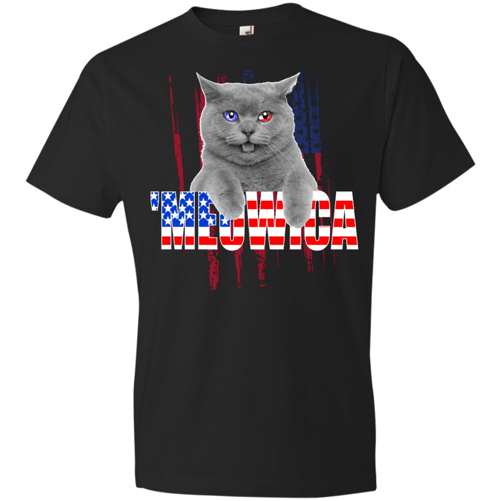 Meowica Patriotic Cat Shirts - GoneBold.gift